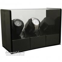Шкатулка для автоподзавода трех часов LuxeWood LW203
