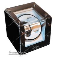 Шкатулка для автоподзавода двух часов LuxeWood LW421-1