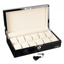 Шкатулка для хранения 12-и часов LuxeWood LW803-12-1