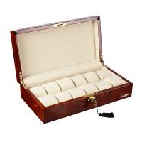 Шкатулка для хранения 12-и часов LuxeWood LW803-12-3