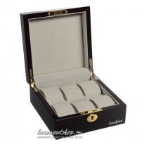 Шкатулка для хранения 6-и часов LuxeWood LW803-6-5