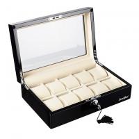 Шкатулка для хранения 10-и часов LuxeWood LW804-10-1