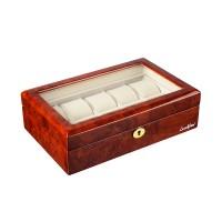Шкатулка для хранения 10-и часов LuxeWood LW804-10-3