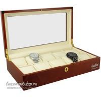 Шкатулка для хранения 10-и часов LuxeWood LW804-10-4