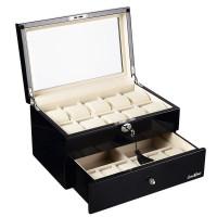 Шкатулка для хранения 16-и часов LuxeWood LW804-16-1