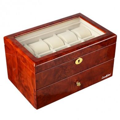 Шкатулка для хранения 16-и часов LuxeWood LW804-16-3