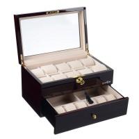 Шкатулка для хранения 16-и часов LuxeWood LW804-16-5