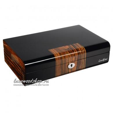 Шкатулка для хранения 10-и часов LuxeWood LW805-10-9