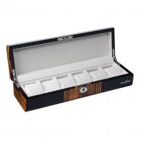 Шкатулка для хранения 6-и часов LuxeWood LW805-6-9