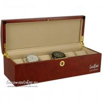 Шкатулка для хранения 6-и часов LuxeWood LW807-6-3